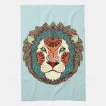 Zodiaco de Leo - león Toallas De Mano