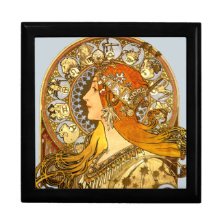 Zodiaco de Nouveau del arte Caja De Regalo