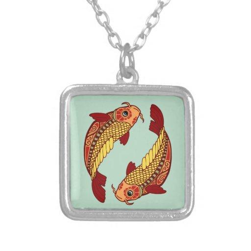 Zodiaco de Piscis - pescado Joyeria Personalizada