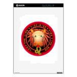 Zodiaco de Valxart Leo iPad 2 Calcomanías