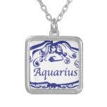 Zodiaco del acuario grimpola personalizada
