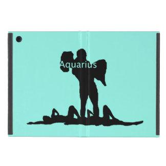 Zodiaco del acuario iPad mini fundas