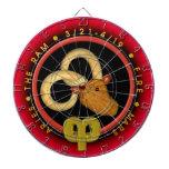 Zodiaco del aries de Valxart Tablero De Dardos