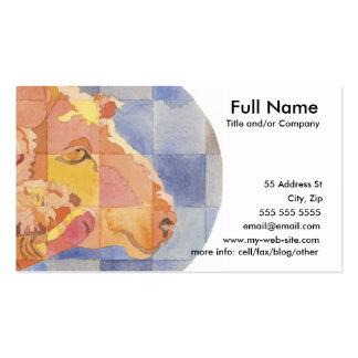 Zodiaco del aries plantillas de tarjetas personales