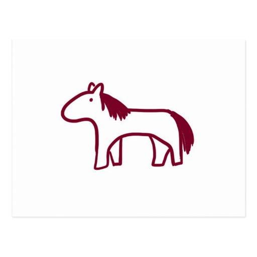Zodiaco del caballo postales