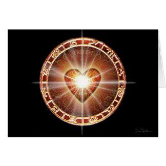 Zodiaco del corazón tarjetas
