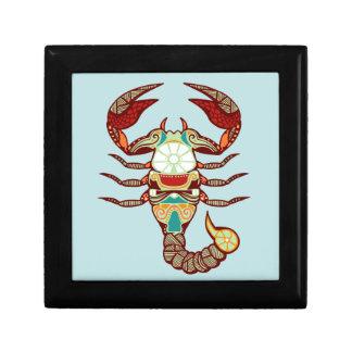 Zodiaco del escorpión - escorpión cajas de regalo