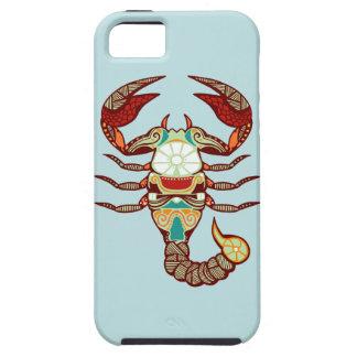Zodiaco del escorpión - escorpión funda para iPhone SE/5/5s