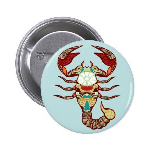 Zodiaco del escorpión - escorpión pins