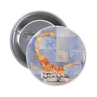 Zodiaco del escorpión pin