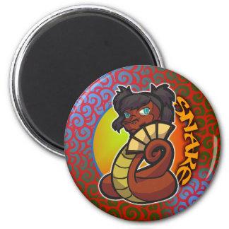 Zodiaco del este - imán de la serpiente