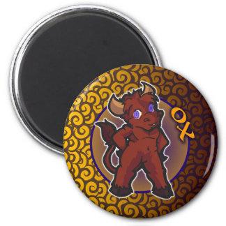 Zodiaco del este - imán del buey