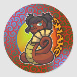 Zodiaco del este - pegatina de la serpiente