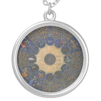Zodiaco del horóscopo de las reglas de la colgante redondo