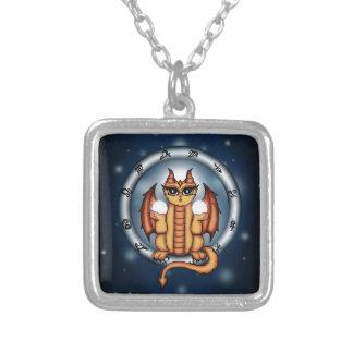 Zodiaco del libra del dragón grimpola