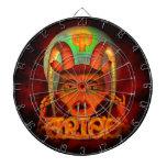 Zodiaco espeluznante del aries por Valxart Tabla Dardos