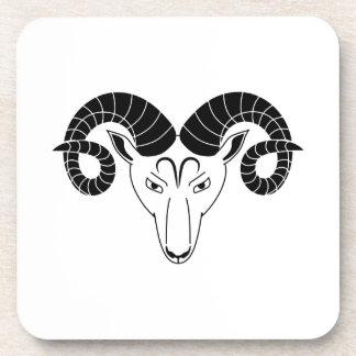 zodiaco griego del horóscopo de la astrología del posavaso