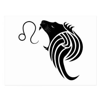 zodiaco griego del horóscopo de la astrología del postal