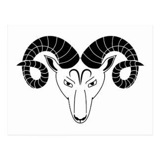 zodiaco griego del horóscopo de la astrología del postales
