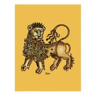 Zodiaco: Leo, 1482 Postal