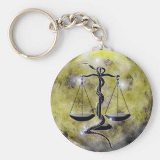Zodiaco-Libra de la mazmorra del arte Llavero