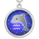 Zodiaco lindo del acuario grimpolas personalizadas