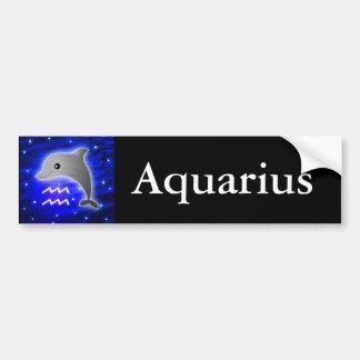 Zodiaco lindo del acuario pegatina para auto