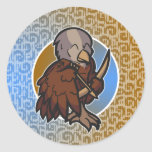 Zodiaco occidental - pegatina del sagitario