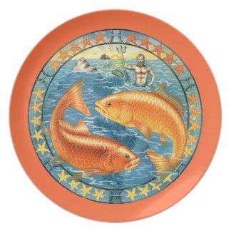 ¡Zodiaco Piscis - modifiqúelo para requisitos part Plato De Comida