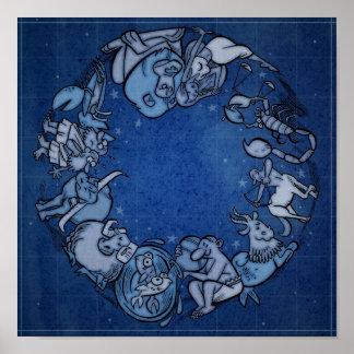 Zodiaco Póster