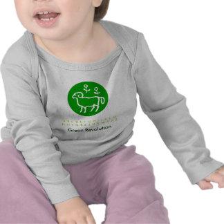 Zodiaco RAM verde Camisetas