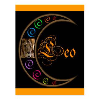 Zodiacos de Celestrial - Leo Tarjetas Postales