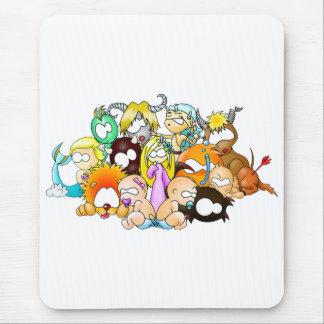 ZodiaK babes Mouse Pad