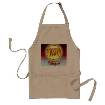 Zodiak Virgo 8/23-9/22 Chefs Apron by creativeconceptss at Zazzle