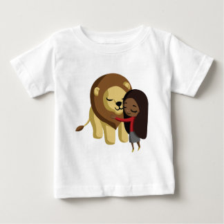 Zoe and Peanut the Lion Baby T-Shirt