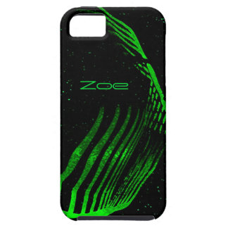 Zoe black and green iphone 5 case