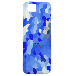 Zoe Blue case for iPhone 5