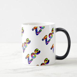 Zoe Blue Style 11 oz Morphing Mug