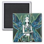 """""""Zoe"""" Celestial Star Fairy Art Magnet"""