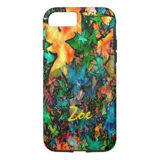 Zoe Fall Leaves iPhone 7 case