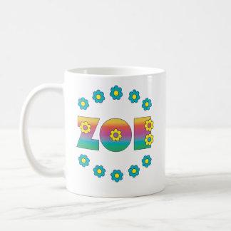 Zoe Flores Rainbow Coffee Mug