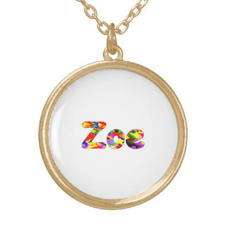 Zoe Gold Plated Necklace