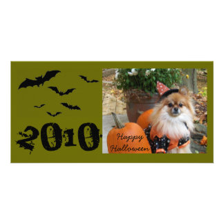 ZOE Happy Halloween, 2010 Card