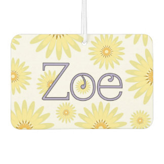 "Zoe ""Isn't Life Daisy"" Design Car Air Freshener"