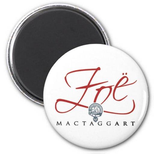 Zoë MacTaggart 2 Inch Round Magnet