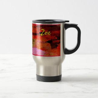 Zoe 15 Oz Stainless Steel Travel Mug