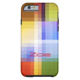 Zoe Multicolored Mosaic Style iPhone case