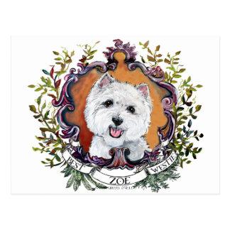 Zoe Post Card