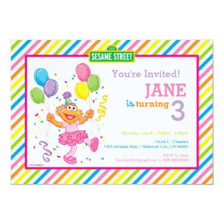 """Zoe rayó cumpleaños invitación 5"""" x 7"""""""
