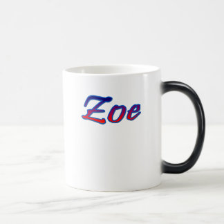 Zoe tea mug